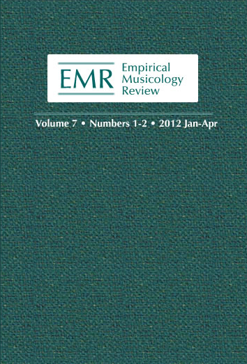 Empricial Musicology Review