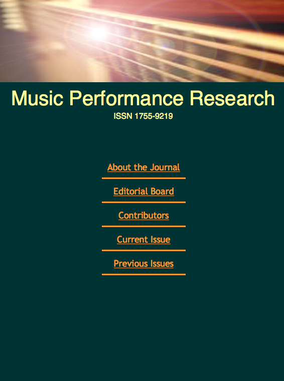 Music Performance Research